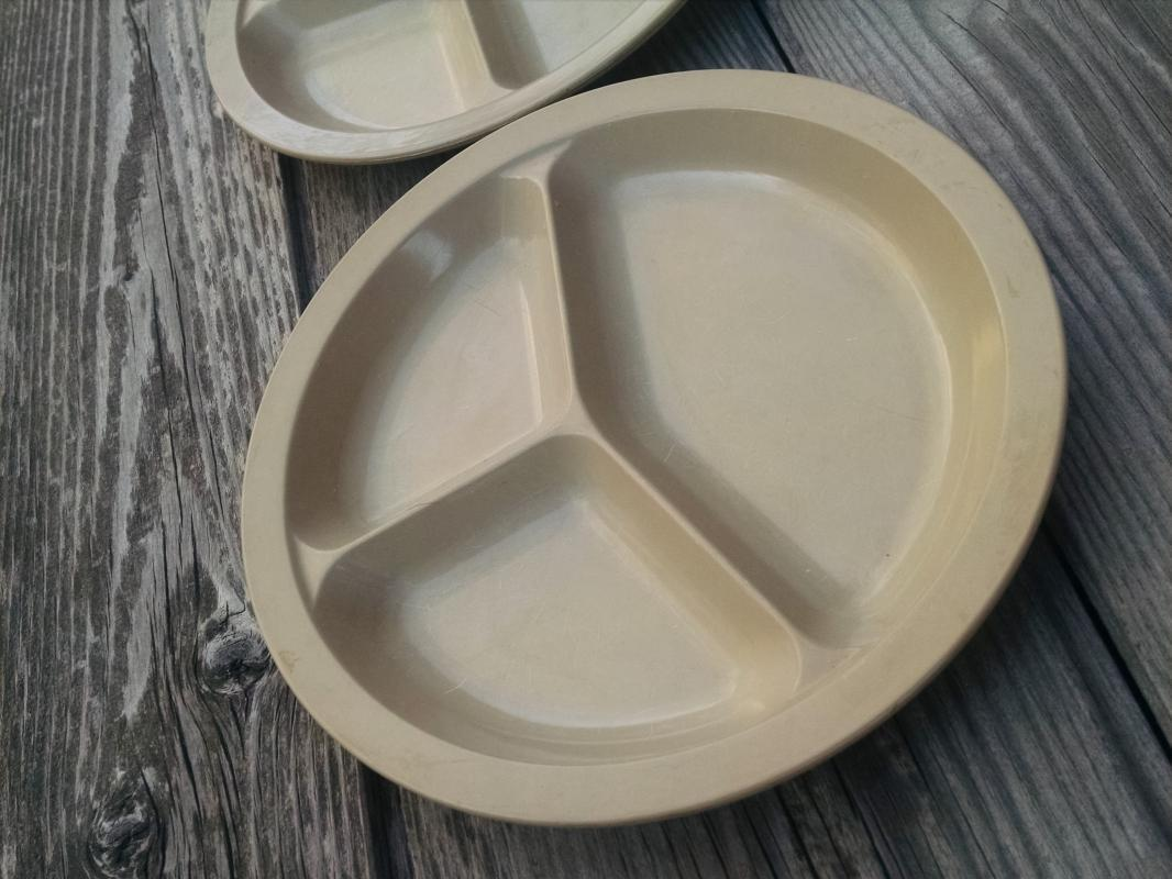 microware divided dish microwave plate anchor hocking usa manufactured tableware
