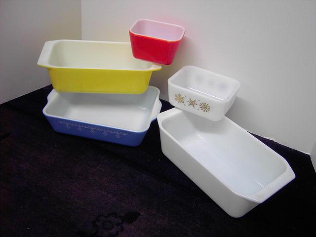 PYREX REFRIGERATOR DISH BAKING BOWL FOOD STORAGE CONTAINER