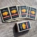 adams brand canned florida sunshine orange juice beverage advertising playing cards bridge size redi slip finish style