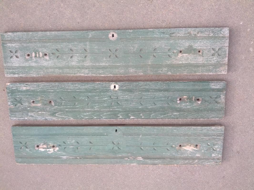 spoon carved style oak wood dresser front board wall ornament door dec