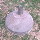 galvinized steel funnel shop garage tool garden yard landscape ornament