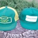 kansas farmer beloit boettcher sew on patch style farm hat nylon mesh ball cap