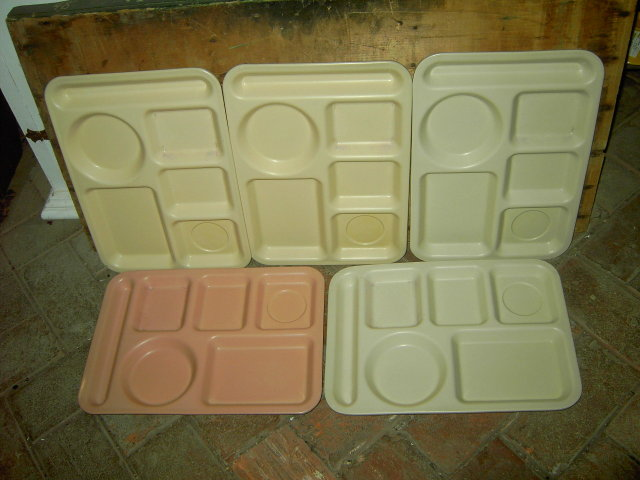 MELMAC SCHOOL CAFETERIA LUNCHROOM DINER TRAY ARROWHEAD CLEVELAND OHIO KING LINE NEMIR WASHINGTON DC