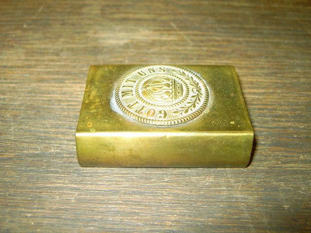 GERMAN MILITARY MATCHBOX CASE HOLDER