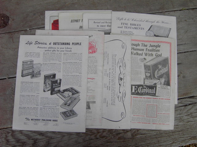 METHODISM CHRISTIAN ADVOCATE MAGAZINE 1950 DEVOTIONAL LITERATURE BIBLE STUDY PUBLICATIONS