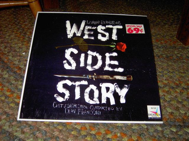 WEST SIDE STORY BROADWAY MUSICAL VINYL RECORD ALBUM LEONARD BERNSTEIN PICKWICK INTERNATIONAL LONG ISLAND NEW YORK