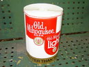 OLD MILWAUKEE BEER BANNER WALL POSTER STREAMER STROH BREWERY ADVERTISING