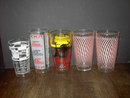 COCKTAIL MIXER GLASS TUMBLER BARTENDER ACCESSORY CUPS