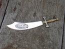 WICHITA FALLS TEXAS DAGGER KNIFE LETTER OPENER SOUVENIR