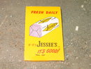 JESSEE'S BREAD KLEENEX LIPSTICK TISSUE PURSE POCKETBOOK ACCESSORY COSMETIC BEAUTY AID