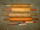WOODEN ROLLING PIN BAKING COOKING UTENSIL HOUSEHOLD FOOD PREPARATION TOOL