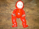 ROYAL KEWPIE OCCUPIED JAPAN CELLULOID DOLL EARLY PLASTIC TOY