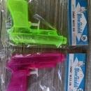 combat water gun blue shield great southern memphis tennessee original advertising package hong kong plastic pistol toy