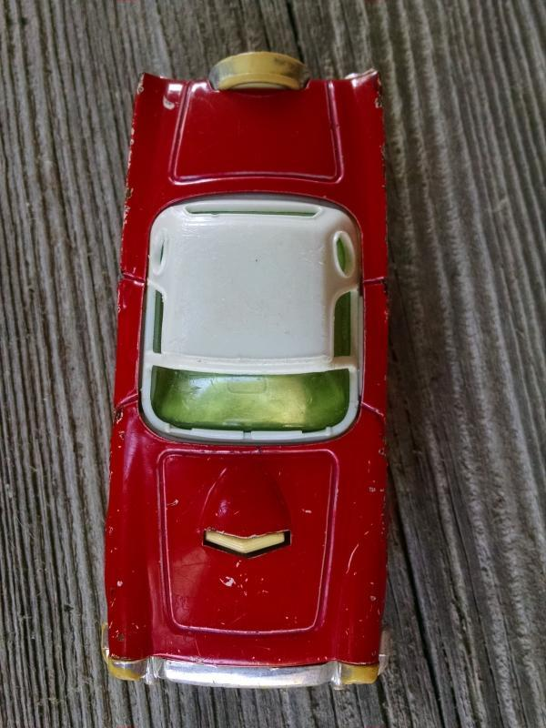 Buddy L toy car play automobile Ford Thunderbird look Japan made retro era auto collectible