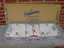 ICE HOCKEY ACTION BOARD GAME DE LUXE SPORT TOY KINGSTON PENNSYLVANIA KAUFMANN WERNERT STORES KEARNEY NEBRASKA ADVERTISING BOX