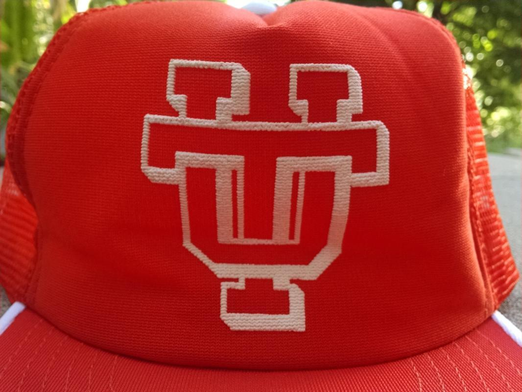 Tennessee University Volunteers Retro Ball Cap Baseball Style Hat USA Made Headwear Apparel Fashion Accessory