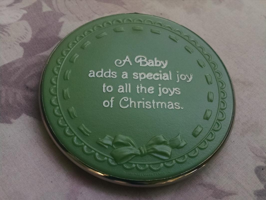1981 baby Christmas ornament hallmark usa holiday gift