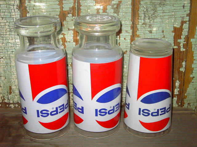 PEPSI COLA SOFT DRINK TUMBLER GLASS