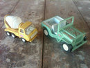 tonka cement mixer toy truck offroad jeep play vehicle