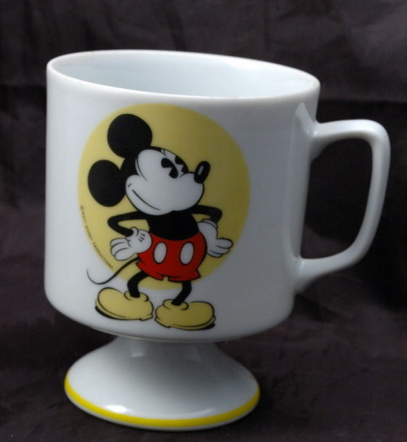 Disney  Classic Mickey Mouse Pedestal Coffee Mug