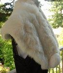 Vintage White Mink Shoulder Stole