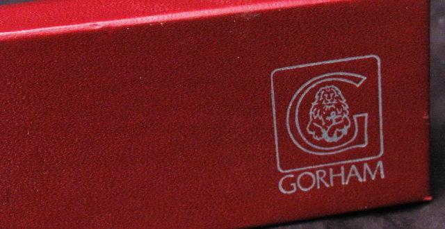 Gorham Pewter Salt, Pepper Shaker Set of 4 in box