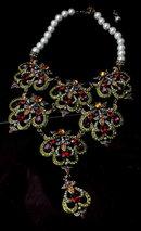 Heidi Daus Elegant Jewels & Pearls Necklace