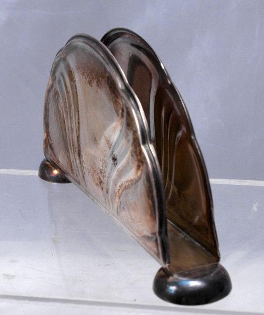 Art Deco Silver Napkin Holder GOTTLIEB KURZ 835   GERMANY