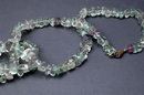Natural Fluorite Nuggets Necklace 24