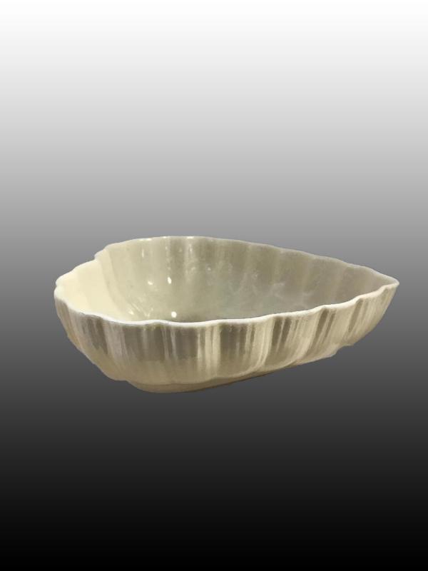 Belleek Ireland Porcelain  Heart Shape Bowl 6.5
