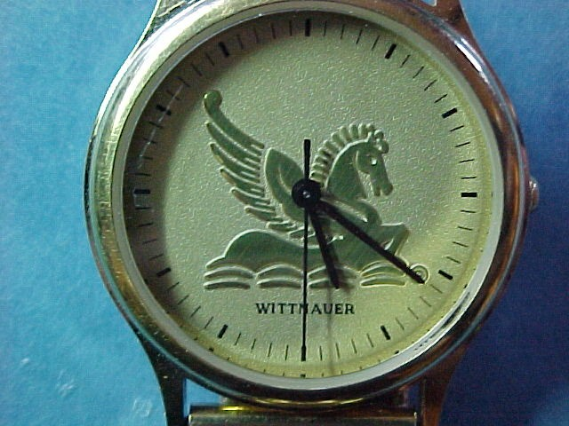 Wittnauer Watch Value >> Gold Pegasus Watch By Wittnauer
