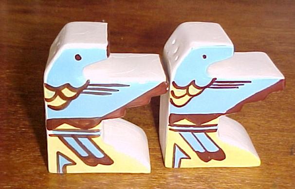 Native American Thunderbird Salt & Pepper