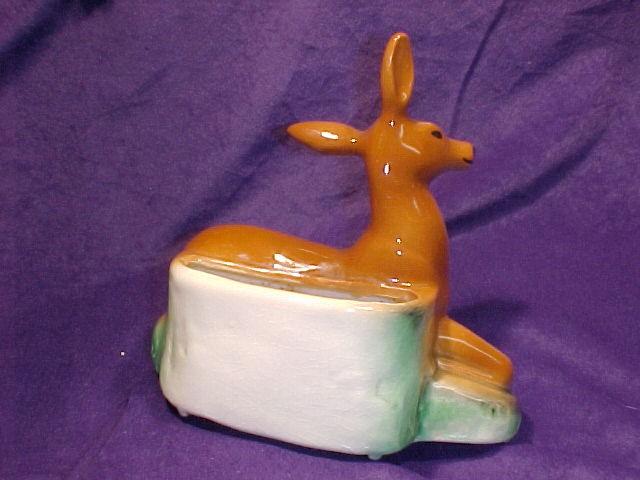 Deer Planter  Lovely & Graceful    Ceramic
