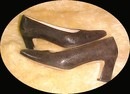 Vintage Pumps Rangoni Firenze Italia Reptile Pattern Brown  *PRICE REDUCTION!*