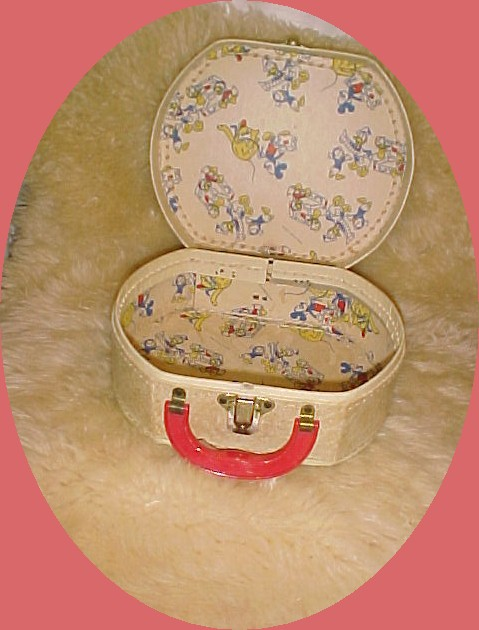 Vintage Donald Duck Toy Luggage or Case