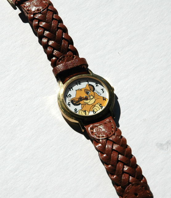Simba from the Lion King Water Resistant Timex Watch