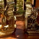 Struggling Librarian Bookends Made in the USA by PM Craftsman