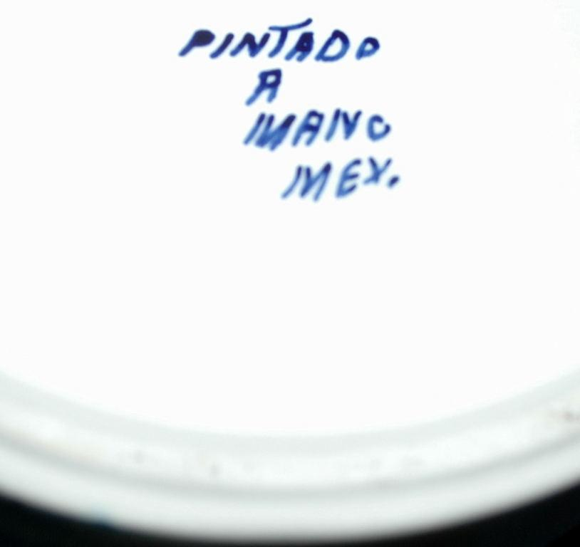 Pintado A Mano Mexico Pottery Tortilla Keeper with Lid