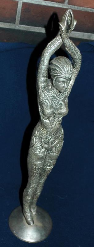 Demetre Chiparus Starfish Dancer Bronze French Art Deco Sculpture Statue Sea Goddess Dancer