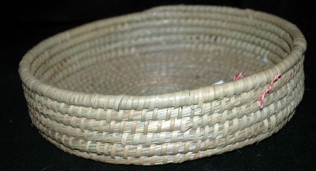 Vintage Handwoven Basket,Made in Bangladesh