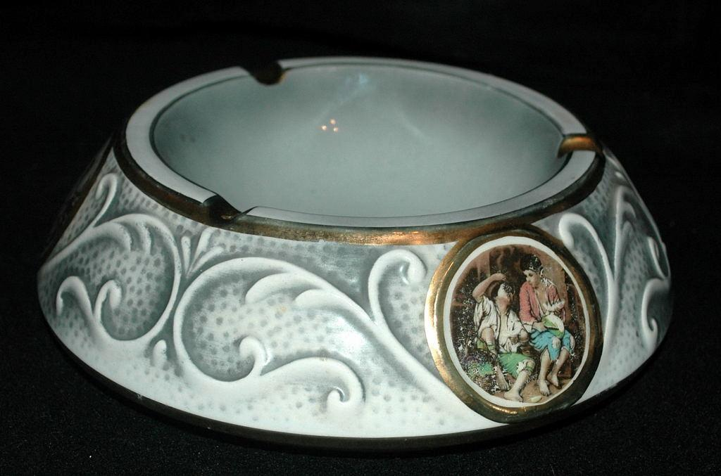 Ceramica Le Torri, Made in Italy Large Ashtray