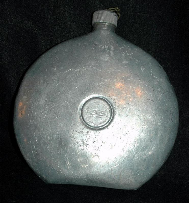 Antique Aluminum canteen - Lander's, Frary & Clark Universal - Patented December 11th 1923