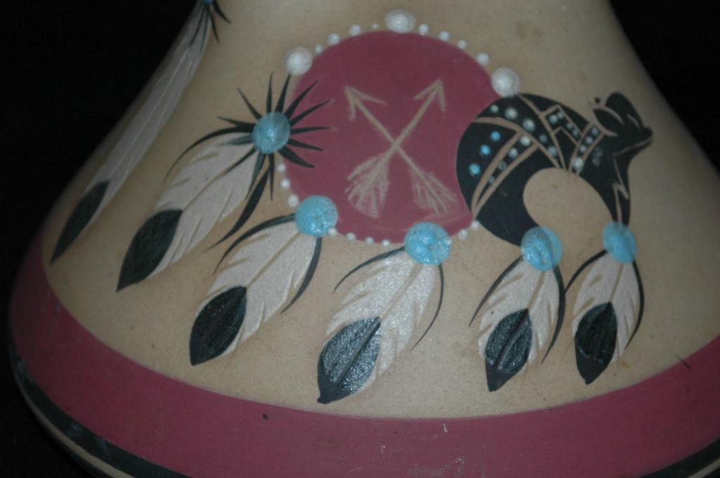 Large Native American Wedding Vase by Betty Selby signed and numbered