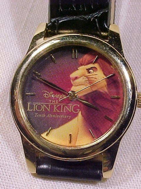 Nice Lion King  Tenth Anniversary Watch