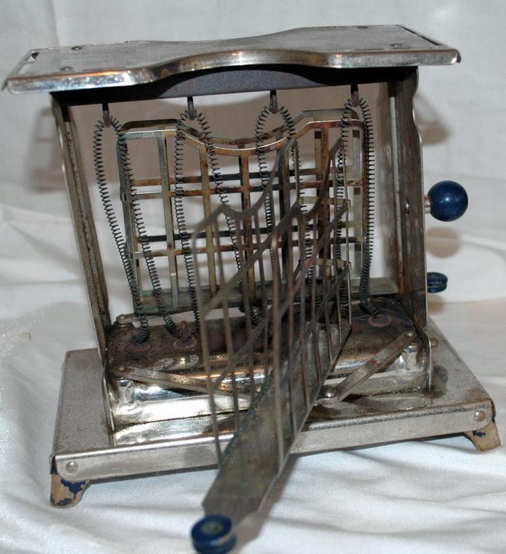Rare Vintage Antique ELECTREX Toaster Swing Doors