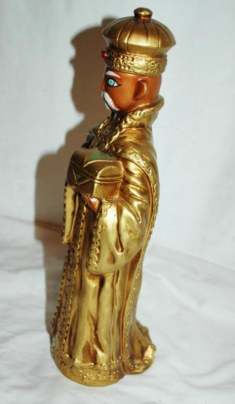 1 of the 3 Wise Men Kings Papier , Paper Mache ,Hand Crafted , Japan , Christmas Decor, Nativity