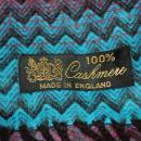 Colorful Zig Zag Cashmere Scarf 62
