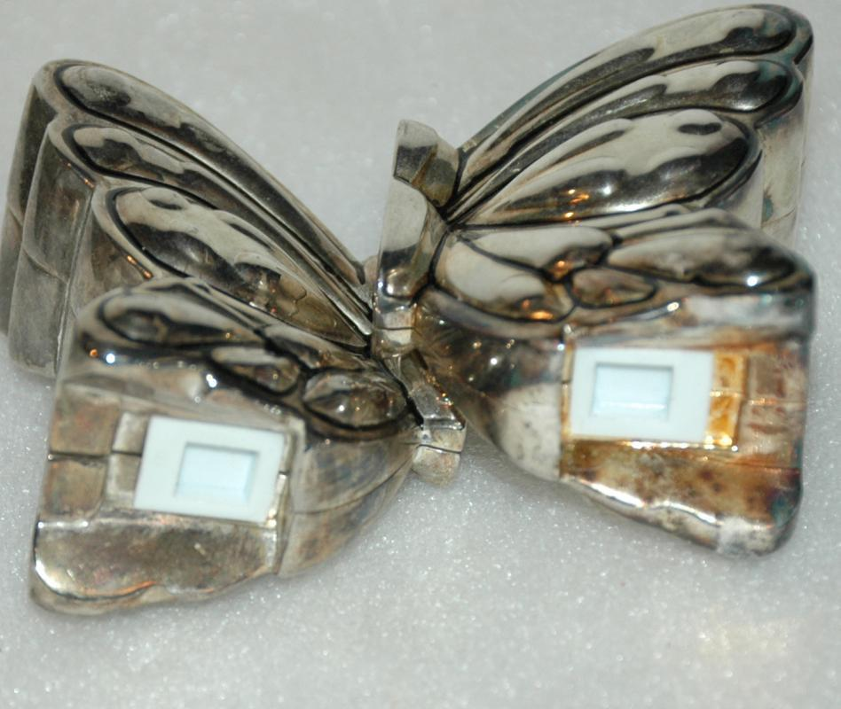 Godinger Silver Plate Butterfly Salt Pepper Shakers / Silverplate