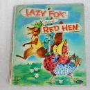 Vintage Children's Whitman Tell-A-Tale Book ~ Lazy Fox and Red Hen