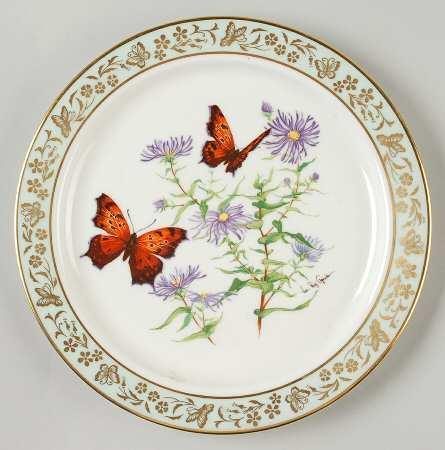 Butterflies & Flowers by Lenox  Limited  Edition  10.5